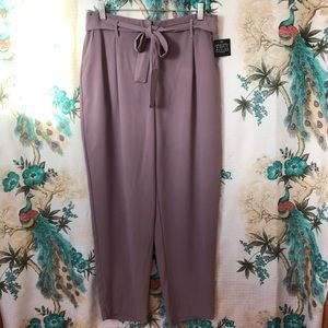 Simply Styled Missy Tie Front Trousers by Sears